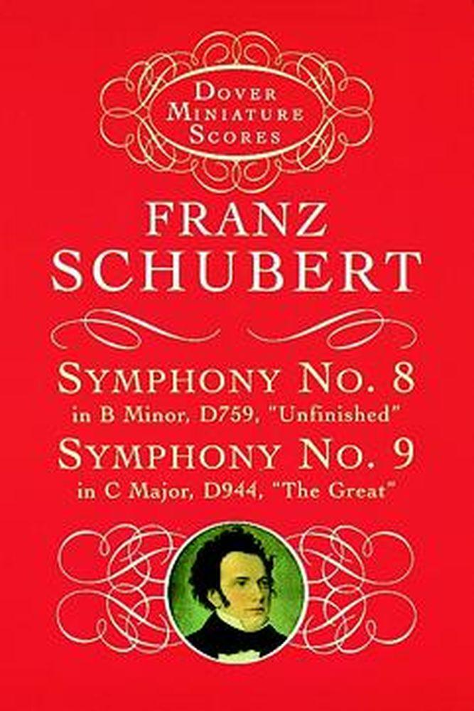Schubert F. - Symphonies N°8 D759, N°9 D944 - Conducteur Poche