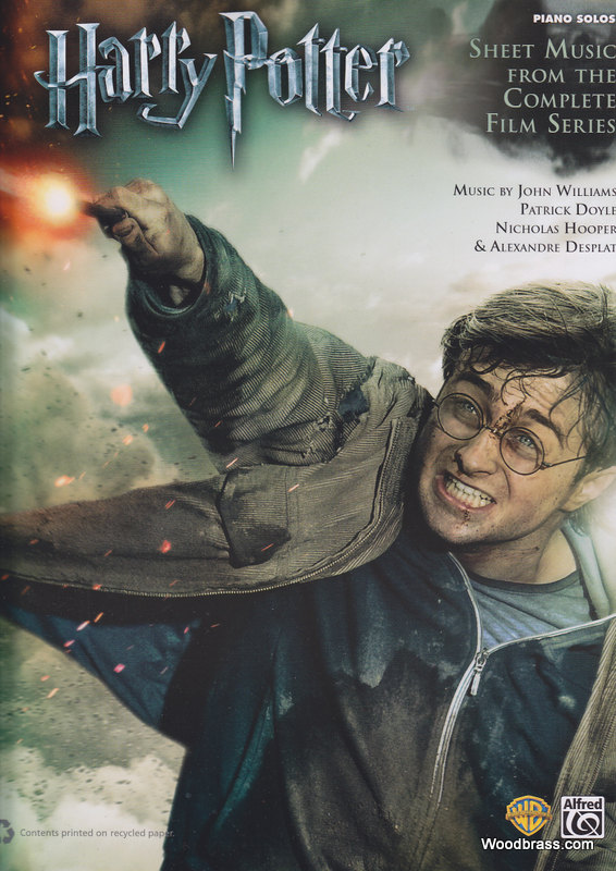 Harry Potter Complete Film Series Piano Solos