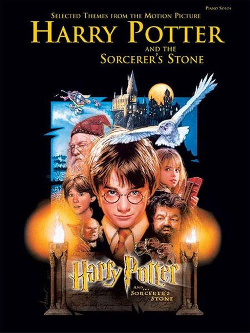 HARRY POTTER AND THE SORCERE'S STONE - PIANO