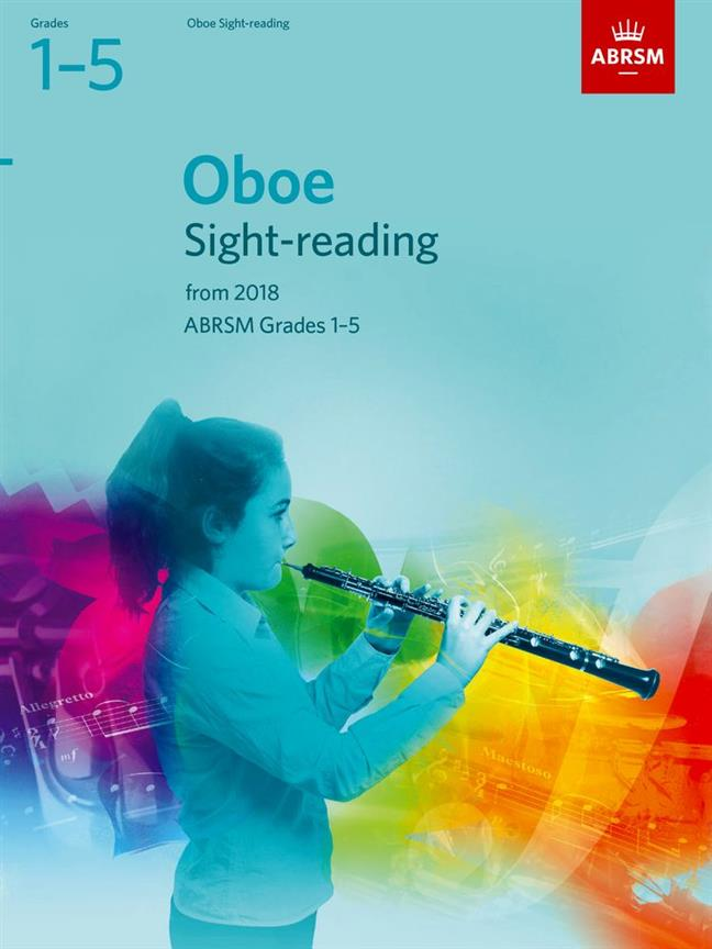 Abrsm - Oboe Sight-reading Tests Grades 1-5 From 2018 - Hautbois