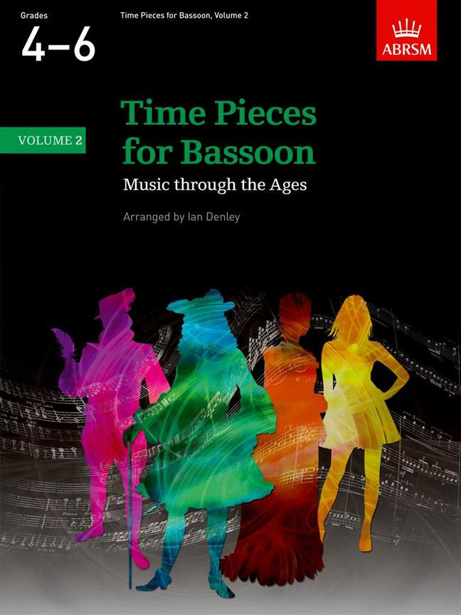 Denley Ian - Time Pieces For Bassoon Vol.2