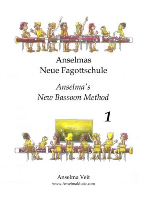 VELT ANSELMA - ANSELMA'S NEW BASSOON METHOD BOOK 1
