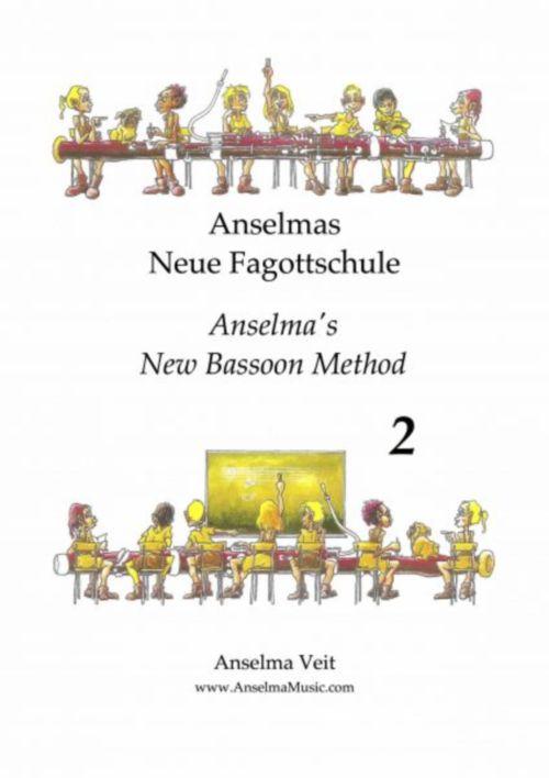 Velt Anselma - Anselma's New Bassoon Method Book 2