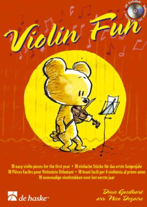 GOEDHART DINIE / DEZAIRE NICO - VIOLIN FUN + CD
