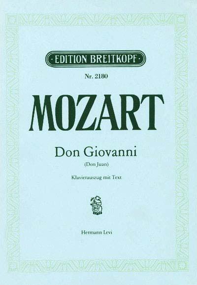 Mozart Wolfgang Amadeus - Don Giovanni Kv 527 - Piano