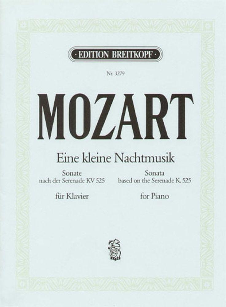 Mozart Wolfgang Amadeus - Eine Kleine Nachtmusik G Kv525 - Piano