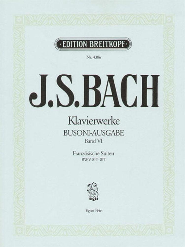 Bach Johann Sebastian - Franzosische Suiten - Piano