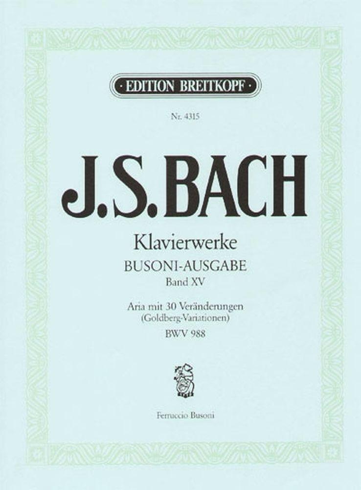 Bach Johann Sebastian - Goldberg-variationen - Piano