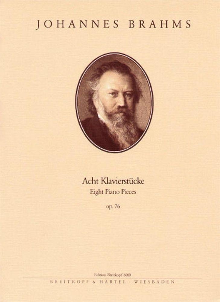 Brahms Johannes - Acht Klavierstucke Op. 76 - Piano