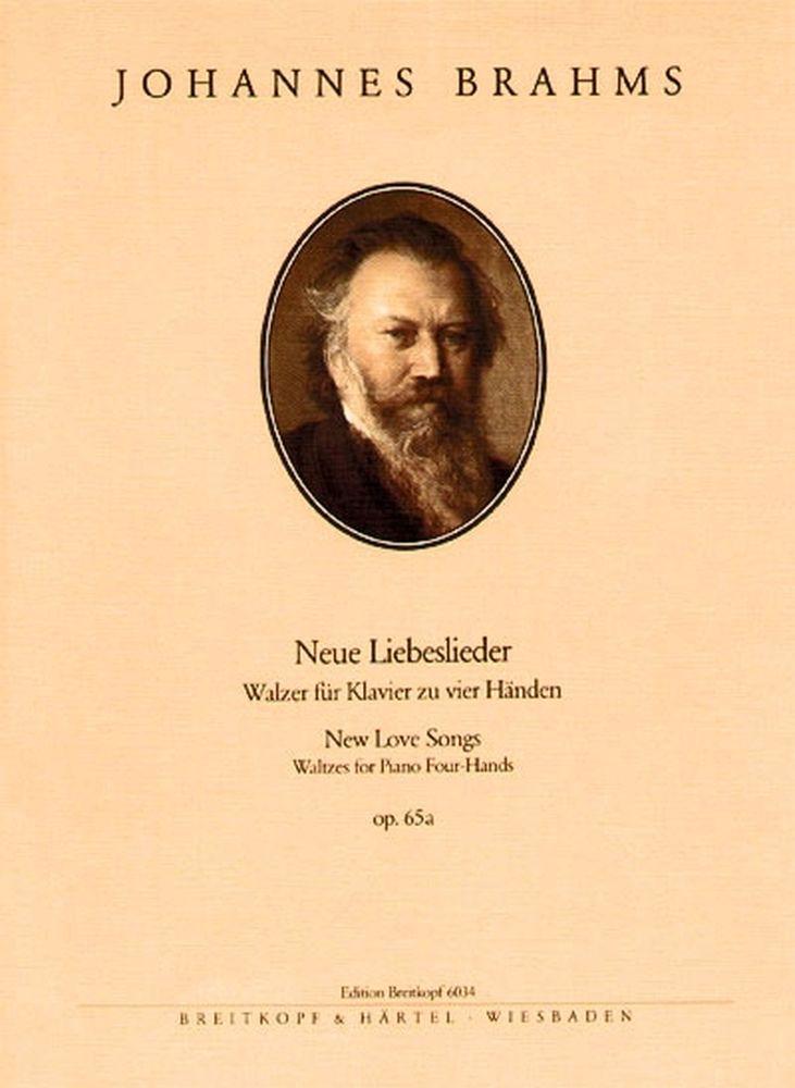 Brahms Johannes - Neue Liebeslieder Op. 65a - Piano