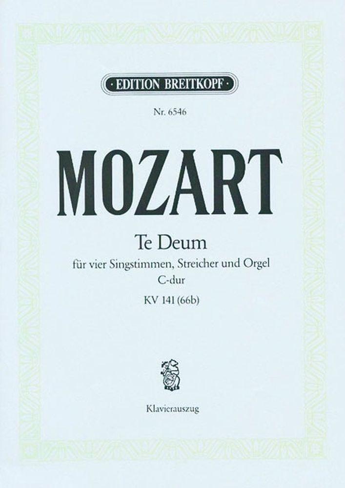 Mozart Wolfgang Amadeus - Te Deum In C Kv 141 - Piano