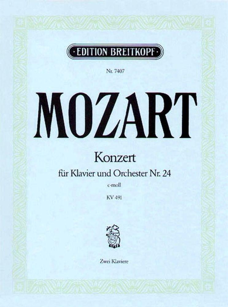 Mozart Wolfgang Amadeus - Klavierkonzert 24 C-moll Kv491 - Piano, Orchestra