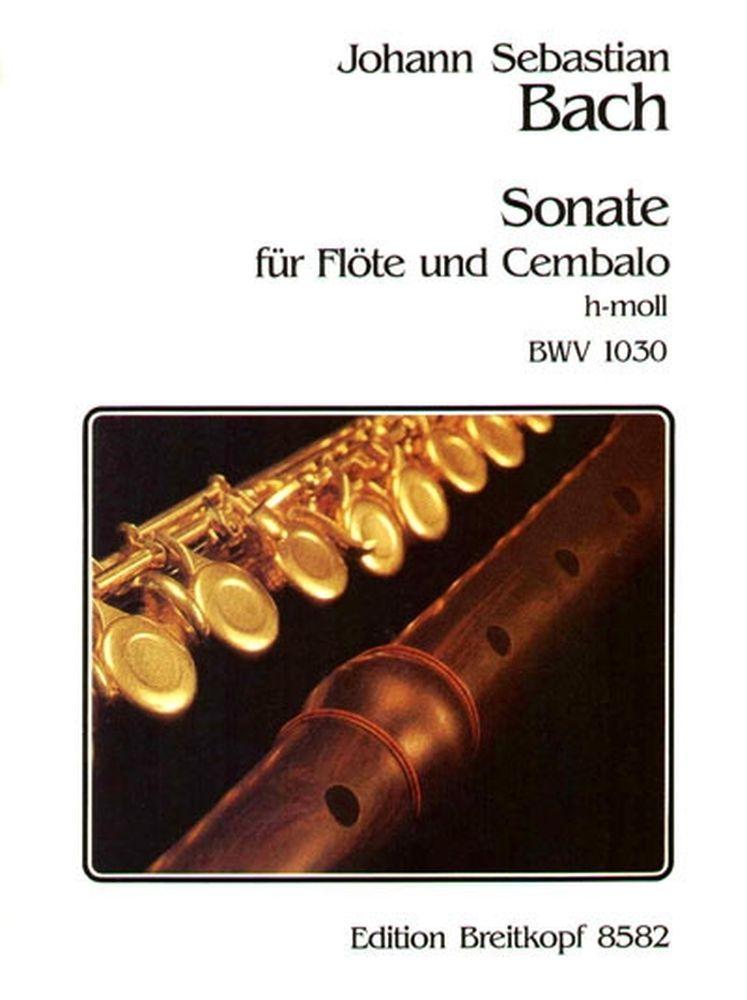 Bach J.s. - Sonate H-moll Bwv 1030 - Flute, Clavecin