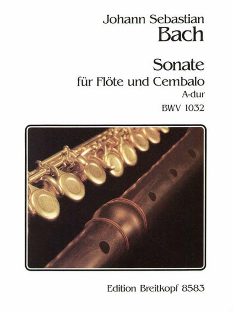 Bach J.s. - Sonate A-dur Bwv 1032 - Flute, Clavecin