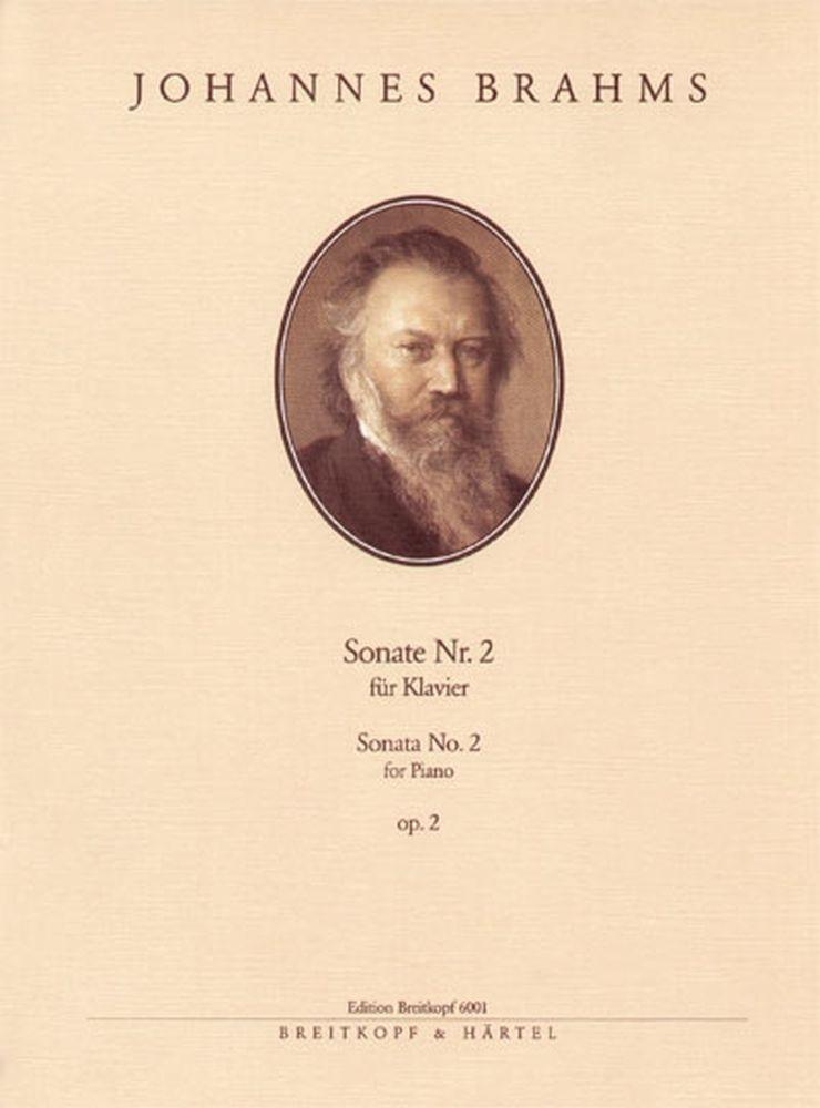 Brahms Johannes - Sonate Nr. 2 Fis-moll Op. 2 - Piano