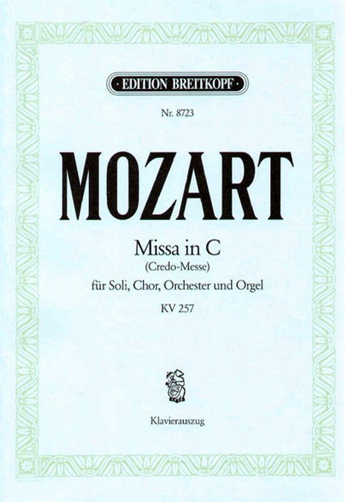 Mozart Wolfgang Amadeus - Missa In C Kv 257 (credo) - Piano