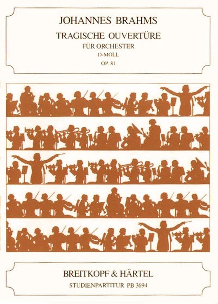 Brahms Johannes - Tragische Ouverture Op. 81 - Orchestra