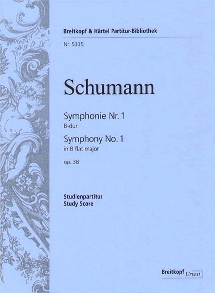 Schumann Robert - Symphonie Nr. 1 B-dur Op. 38 - Study Score