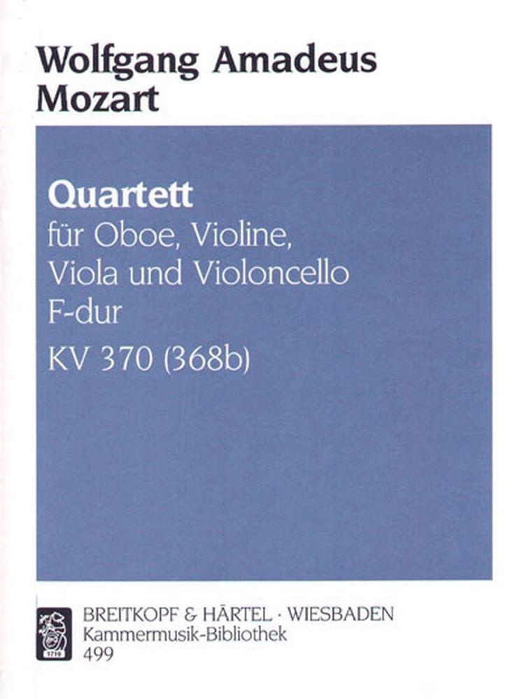 Mozart W.a. - Quartett F-dur Kv 370 (368b)