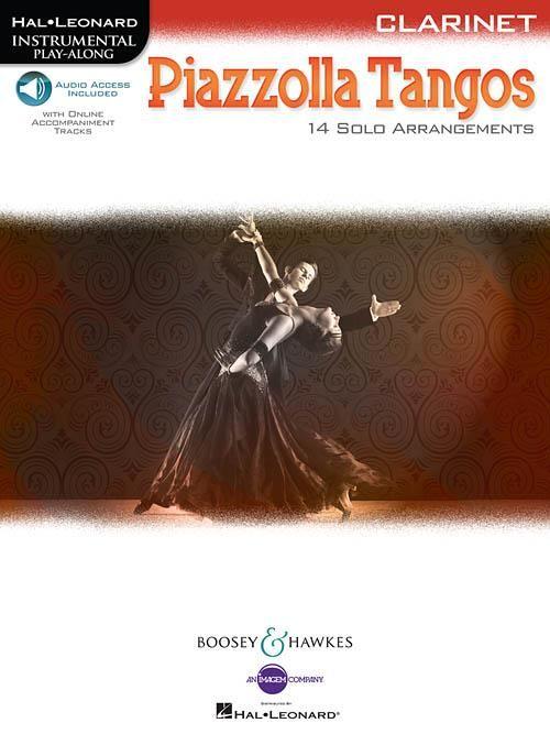 Piazzolla Tangos - Clarinette + Audio Online