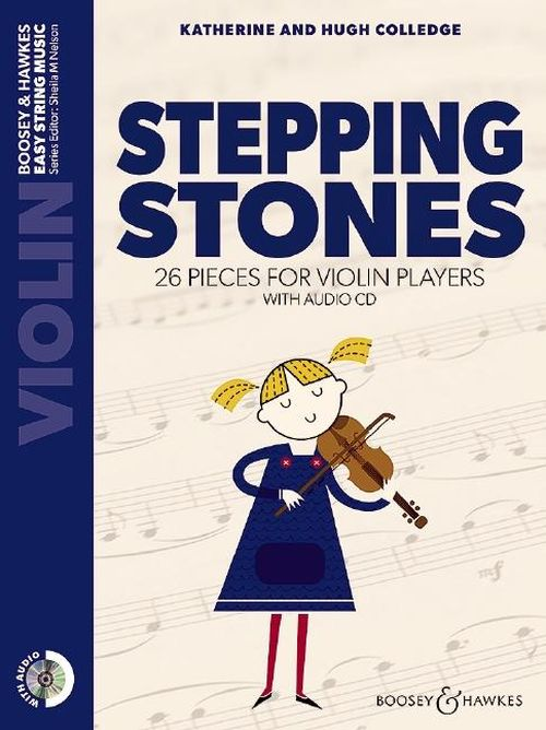 COLLEDGE K. / COLLEDGE H. - STEPPING STONES + CD - VIOLIN
