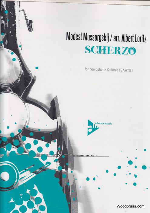 Moussorgsky M. - Scherzo - Quintette De Saxophones