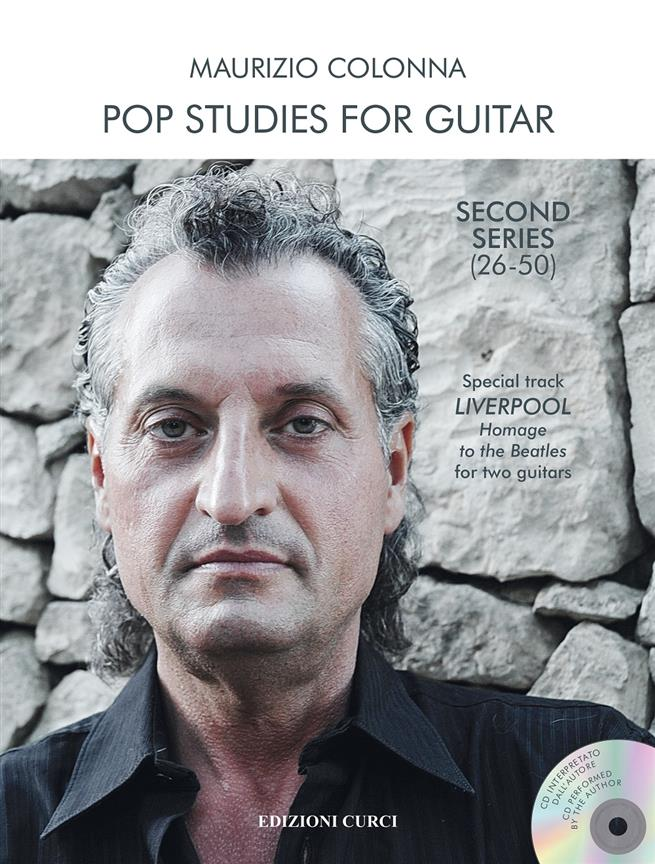 COLONNA MAURIZIO - POP STUDIES FOR GUITAR 2nd SERIE (26-50)