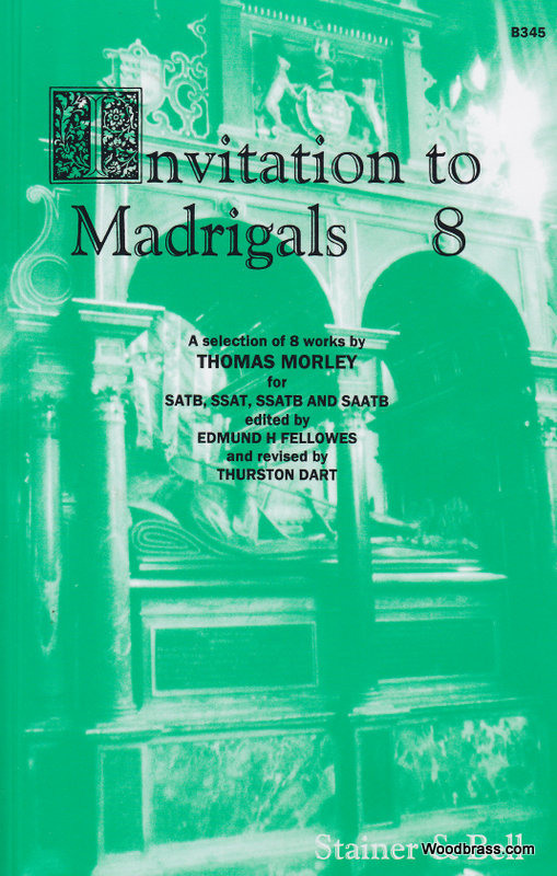 Invitation To The Madrigals Vol.8