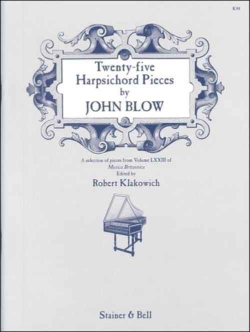 Blow J. - Twenty-five Harpsichord Pieces