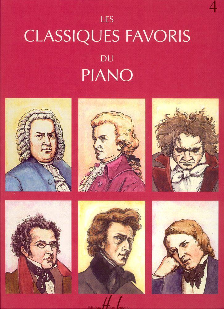 Classiques Favoris Vol.4 - Piano