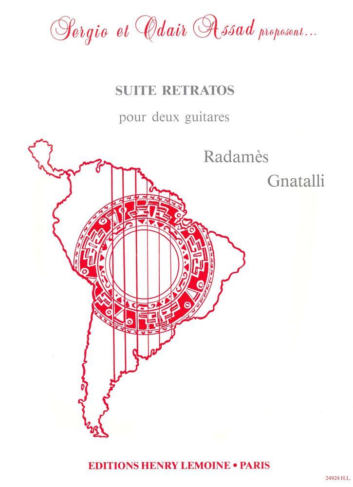 Gnattali R. - Suite Retratos - 2 Guitares