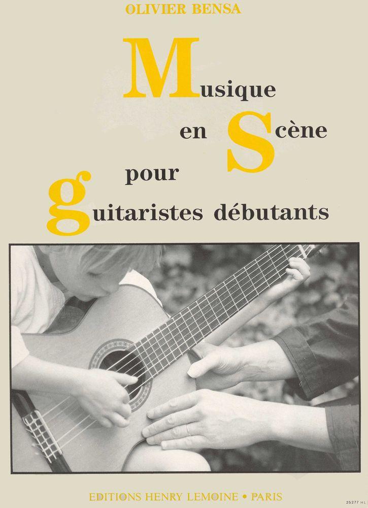 Bensa Olivier - Musique En Scene - Guitare