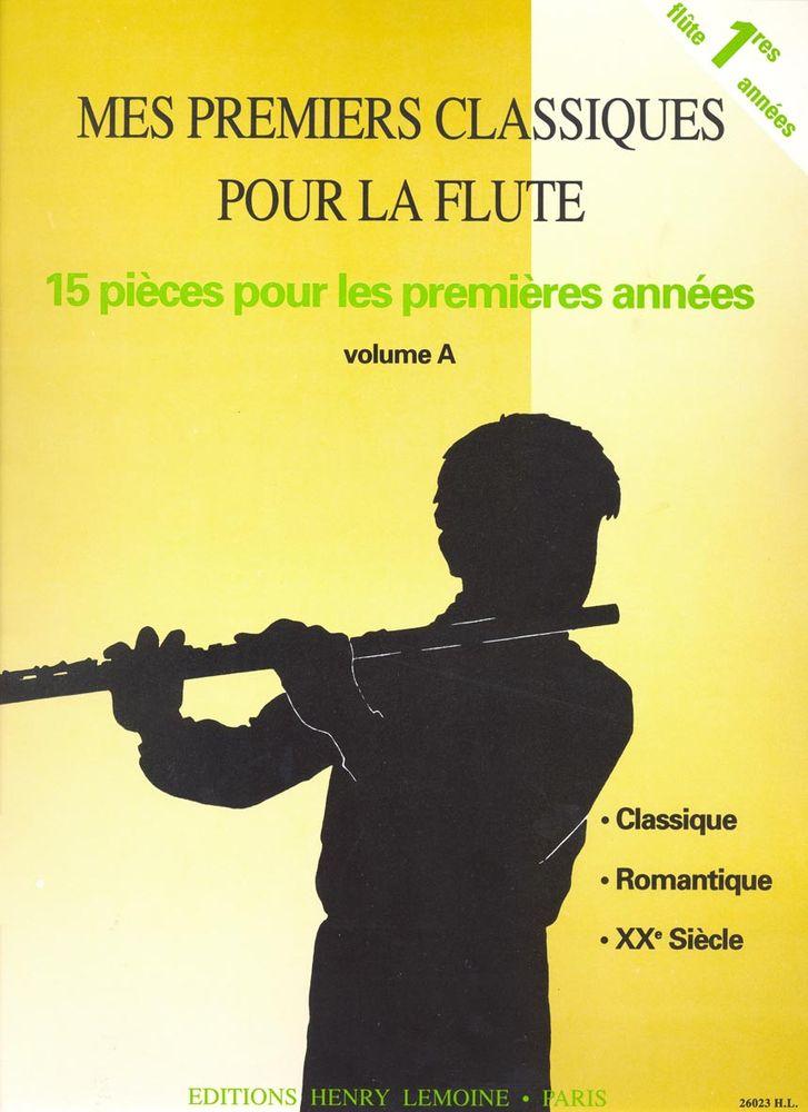 Lemoine mes premiers classiques a flute piano