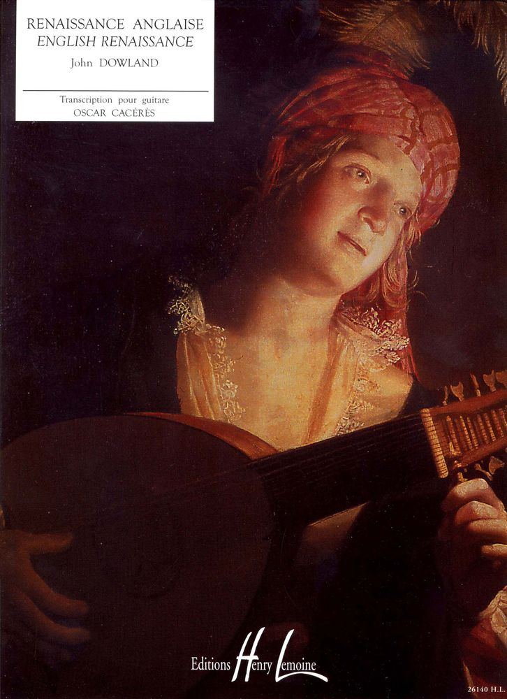Dowland John - Renaissance Anglaise - Guitare