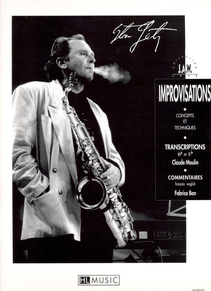 Getz Stan - Improvisations - Saxophone Solo
