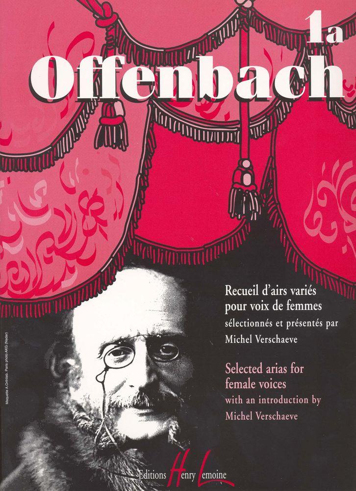 Offenbach Jacques - Recueil D'airs Variés Vol.1a - Soprano Ou Mezzo, Piano