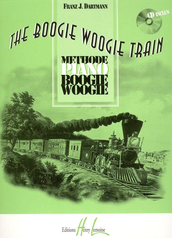 Dartmann Frantz J. - Boogie Woogie Train + Cd - Piano