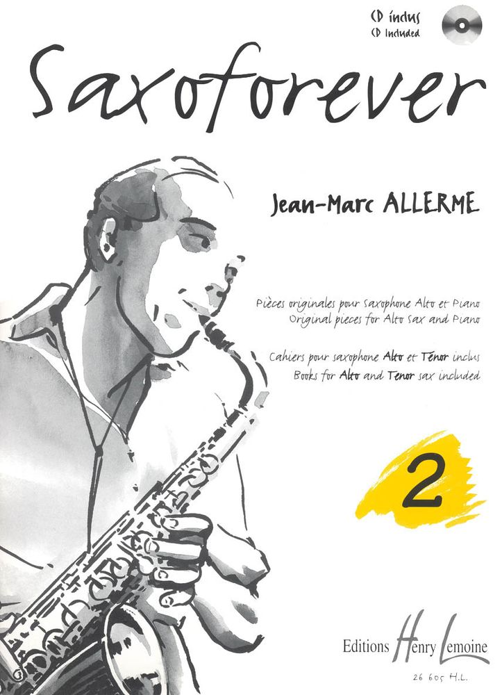 ALLERME JEAN-MARC - SAXOFOREVER VOL.2 + CD