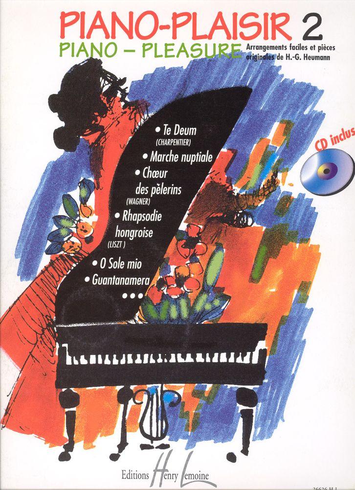 Heumann Hans-gunter - Piano-plaisir Vol.2 + Cd