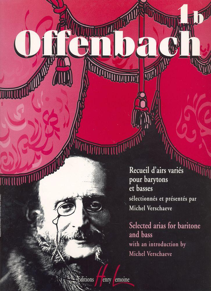 Offenbach Jacques - Recueil D'airs Variés Vol.1b - Baryton Ou Basse, Piano