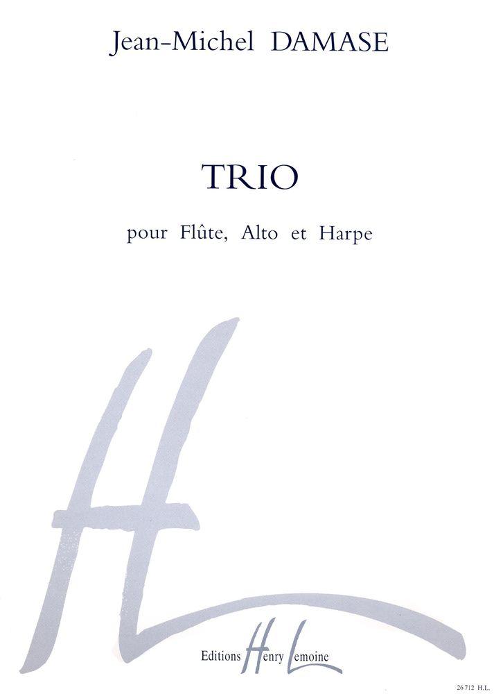 Damase Jean-michel - Trio - Flute, Alto, Harpe