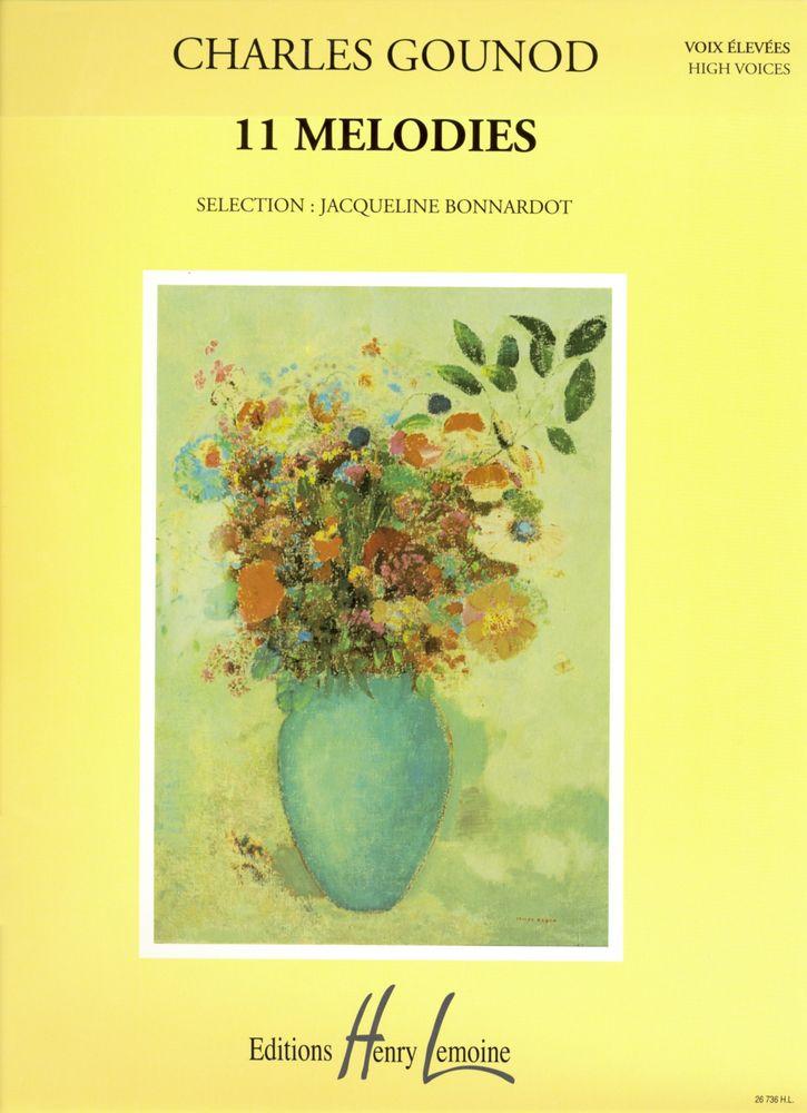 Gounod Charles - Mélodies (11) - Voix Elevee, Piano