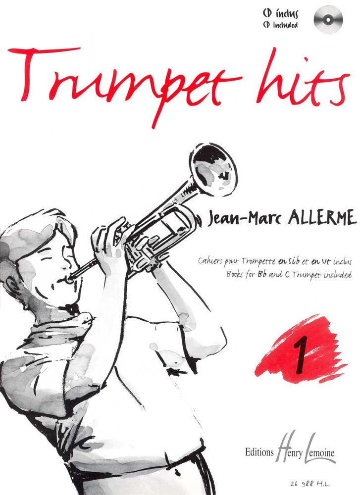 Allerme Jean-marc - Trumpet Hits Vol.1 + Cd - Trompette, Piano