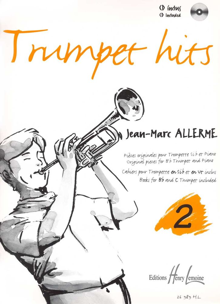 Allerme Jean-marc - Trumpet Hits Vol.2 + Cd - Trompette, Piano