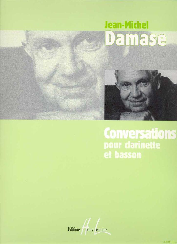 Damase Jean-michel - Conversations - Clarinette, Basson