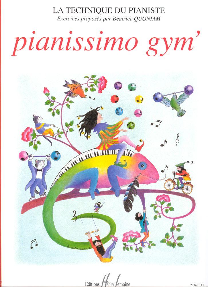 Quoniam Béatrice - Pianissimo Gym' - Piano
