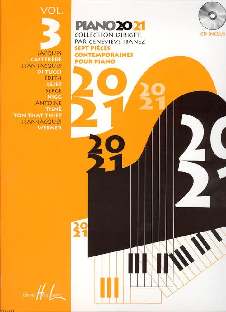 Ibanez Geneviève - Piano 20-21 Vol.3 + Cd - Piano