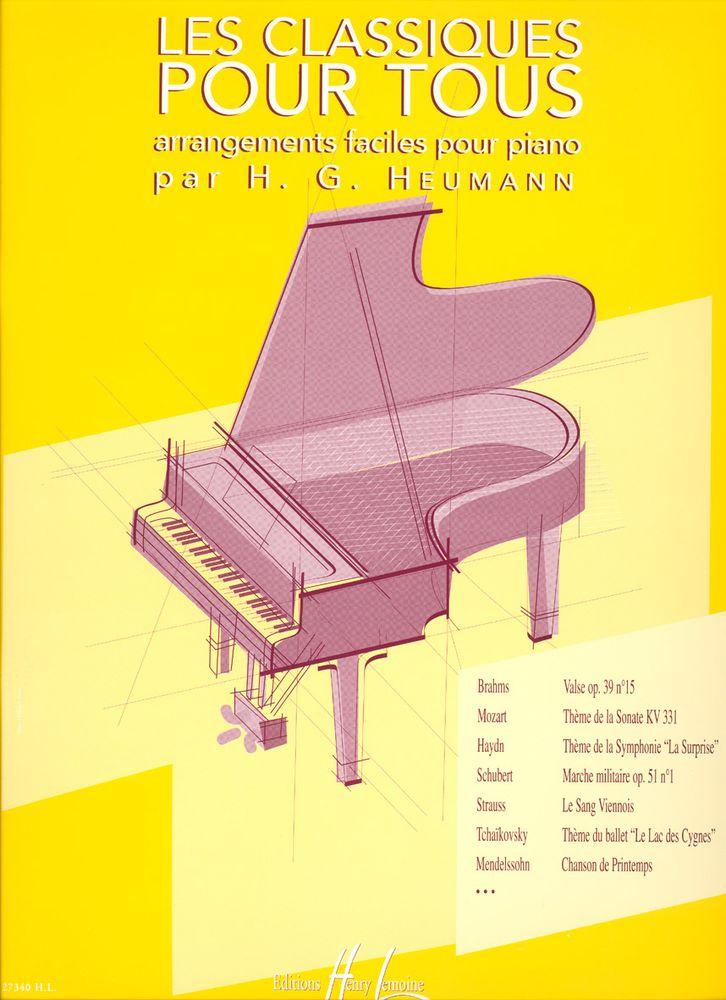 Les Classiques Pour Tous - Piano
