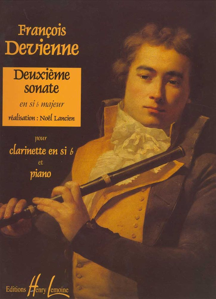 DEVIENNE FRANCOIS - SONATE N°2 - CLARINETTE, PIANO