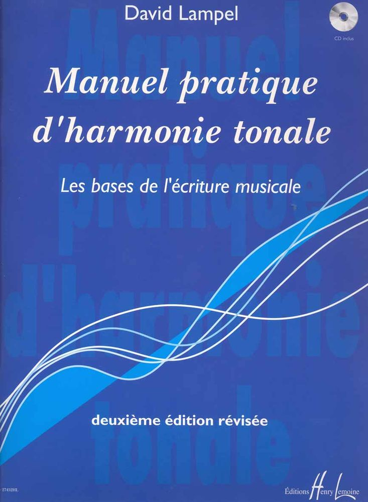Lampel David - Manuel Pratique D'harmonie Tonale + Cd